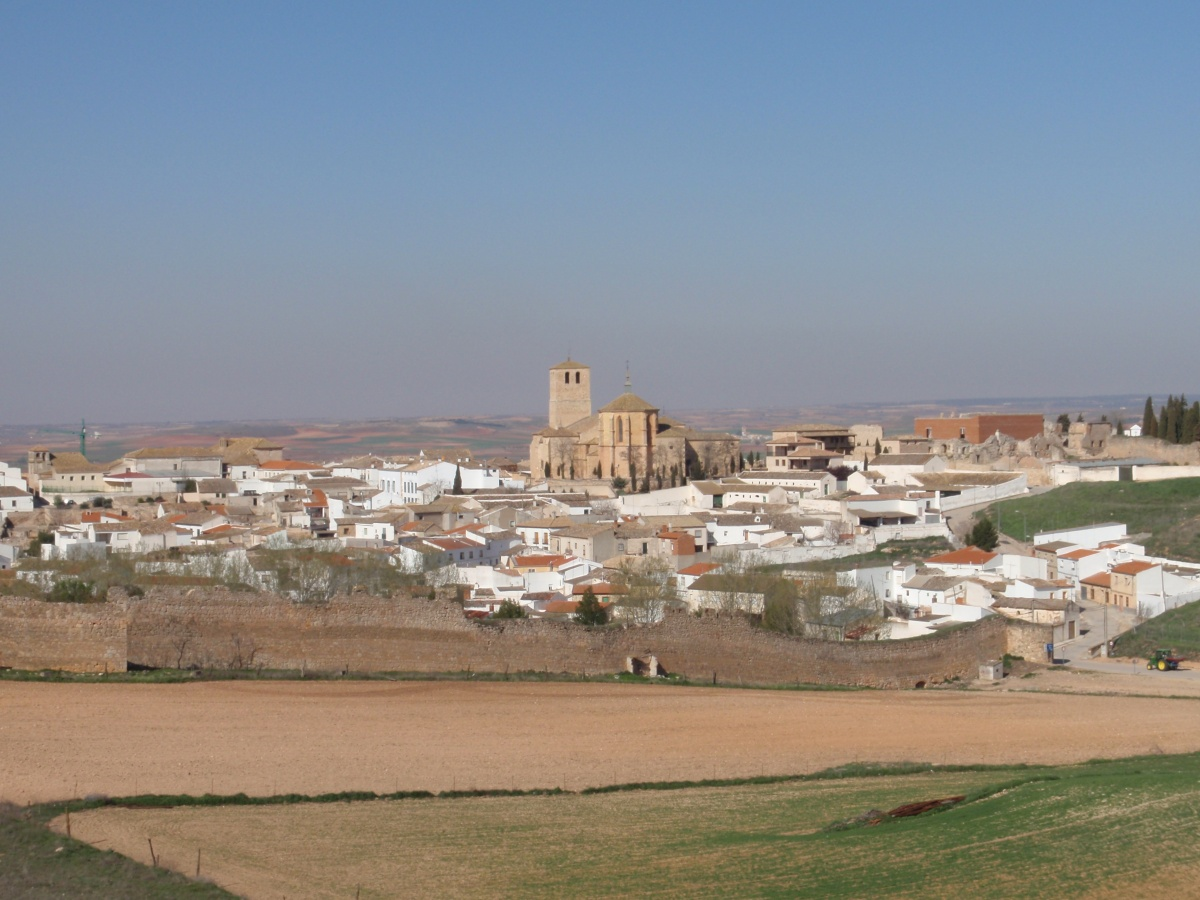 Spain, Belmonte Castle and El Cid