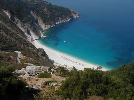 Cephalonia beach