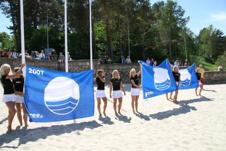 jurmala blue flag