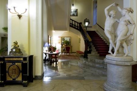 Grand Hotel des Palmes in Palermo Lobby
