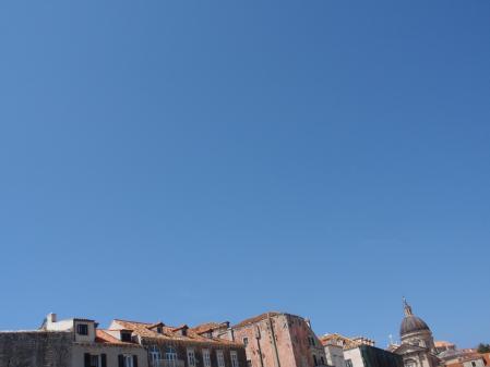 Dubrovnik mostly sky