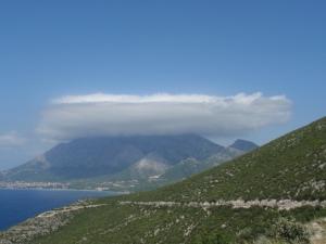 Korcula pancake cloud