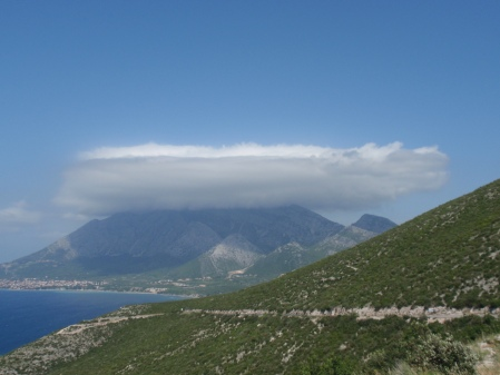 Korcula pancake cloud