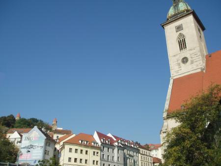 Bratislava blue sky
