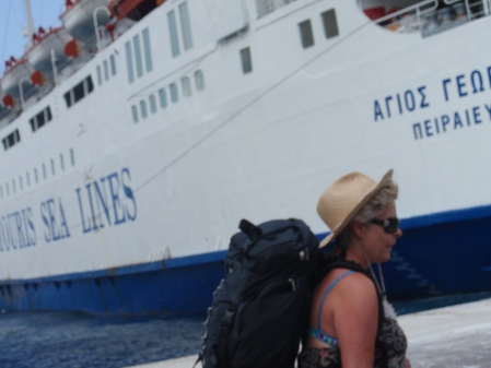 Leaving Sifnos