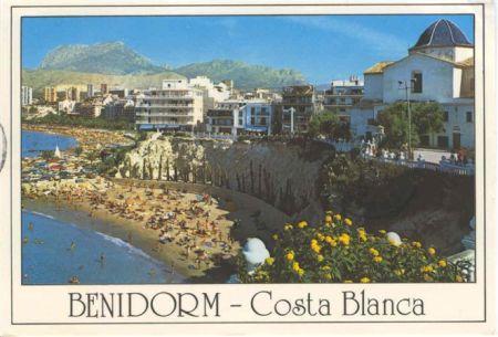 Benidorm in the 1970s