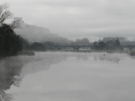 Ciudad Rodrigo in the Fog
