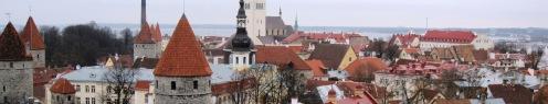 Tallinn Winter Roof Tops