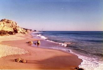 Albufiera Beach Algarve Portugal