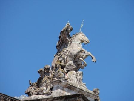 Saint James at Santiago de Compostella