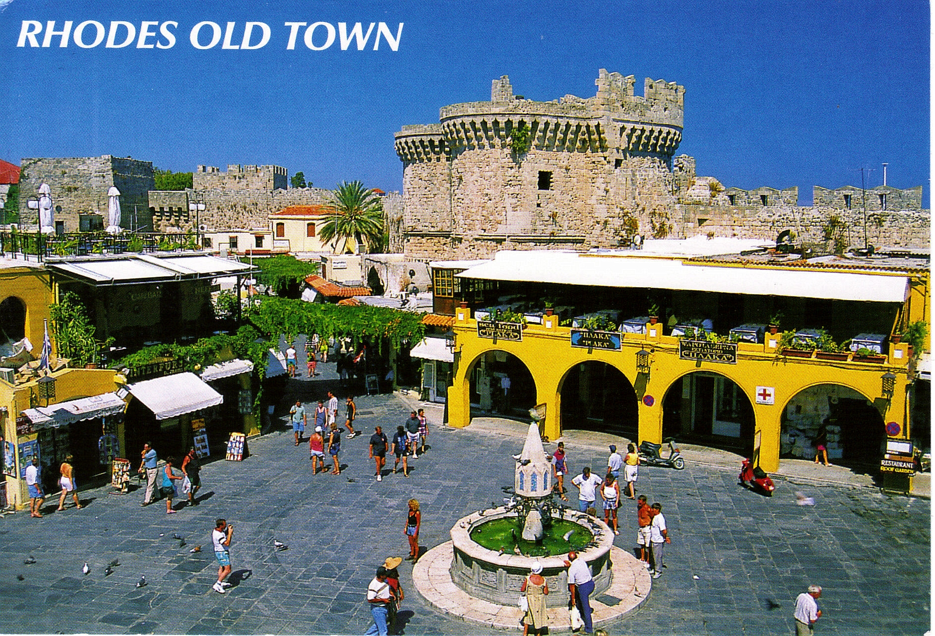 Rhodes Town Places of Tourist in The World