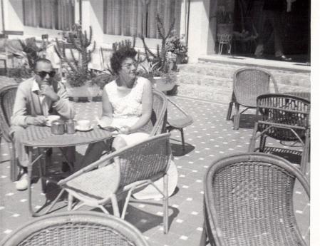 Benidorm Hotel Terrace c1960