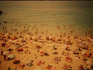Bare Flesh on a Benidorm Beach
