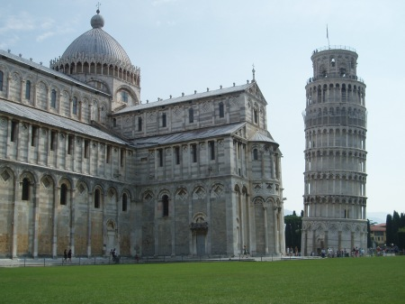 Leaning Tower of Pisa and the Doumo