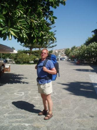 Island Hopping, Back Packing, Greek Islands, Paros