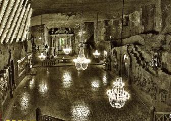 Cathedral Wieliczka Salt Mine Krakow Poland