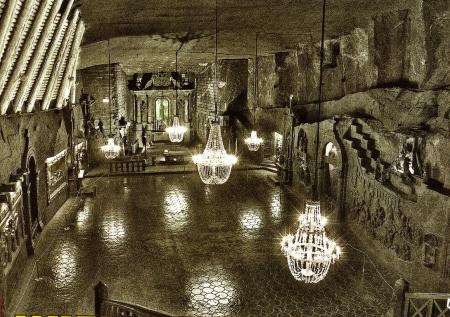 Cathedral Wieliczka Salt Mine