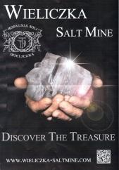 Wieliczka Salt Mine advert