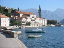 Perast Bay of Kotor Montenegro