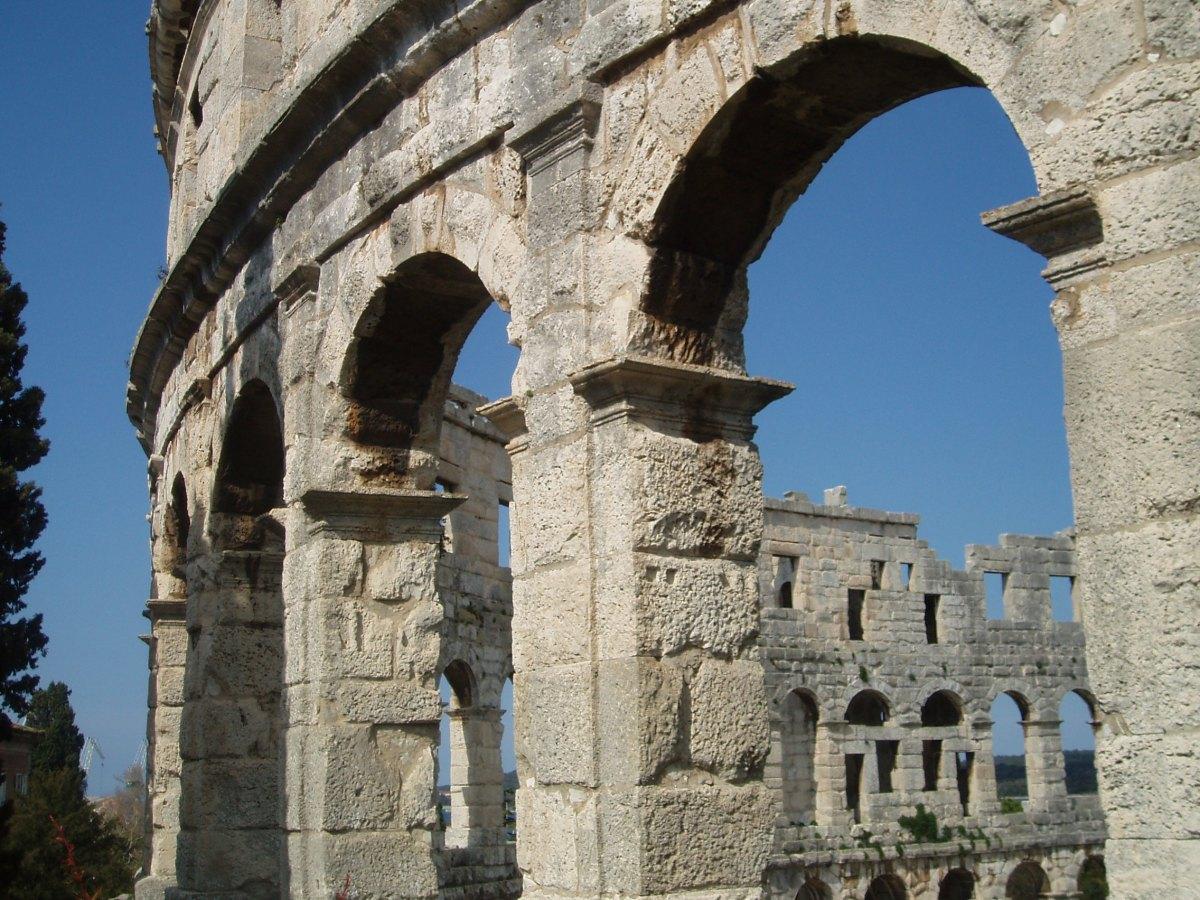 Roman Amphitheatre at Pula