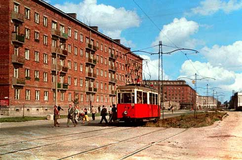 Poland Communist Central Planning Cities Have Bag