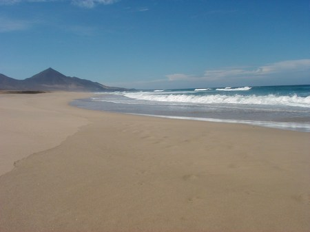Cofete Beach Fuerteventura Canary Islands