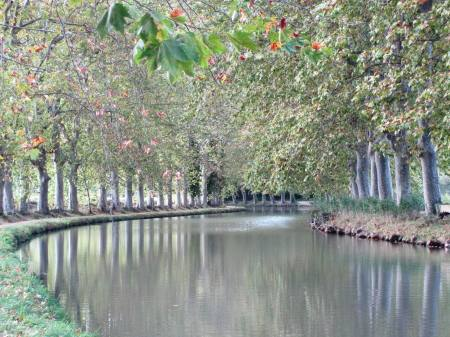 Canal du Midi near Beziers