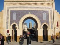 Morocco Fez Blue Gate