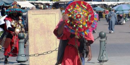 Morocco Water Seller Djma El Fna