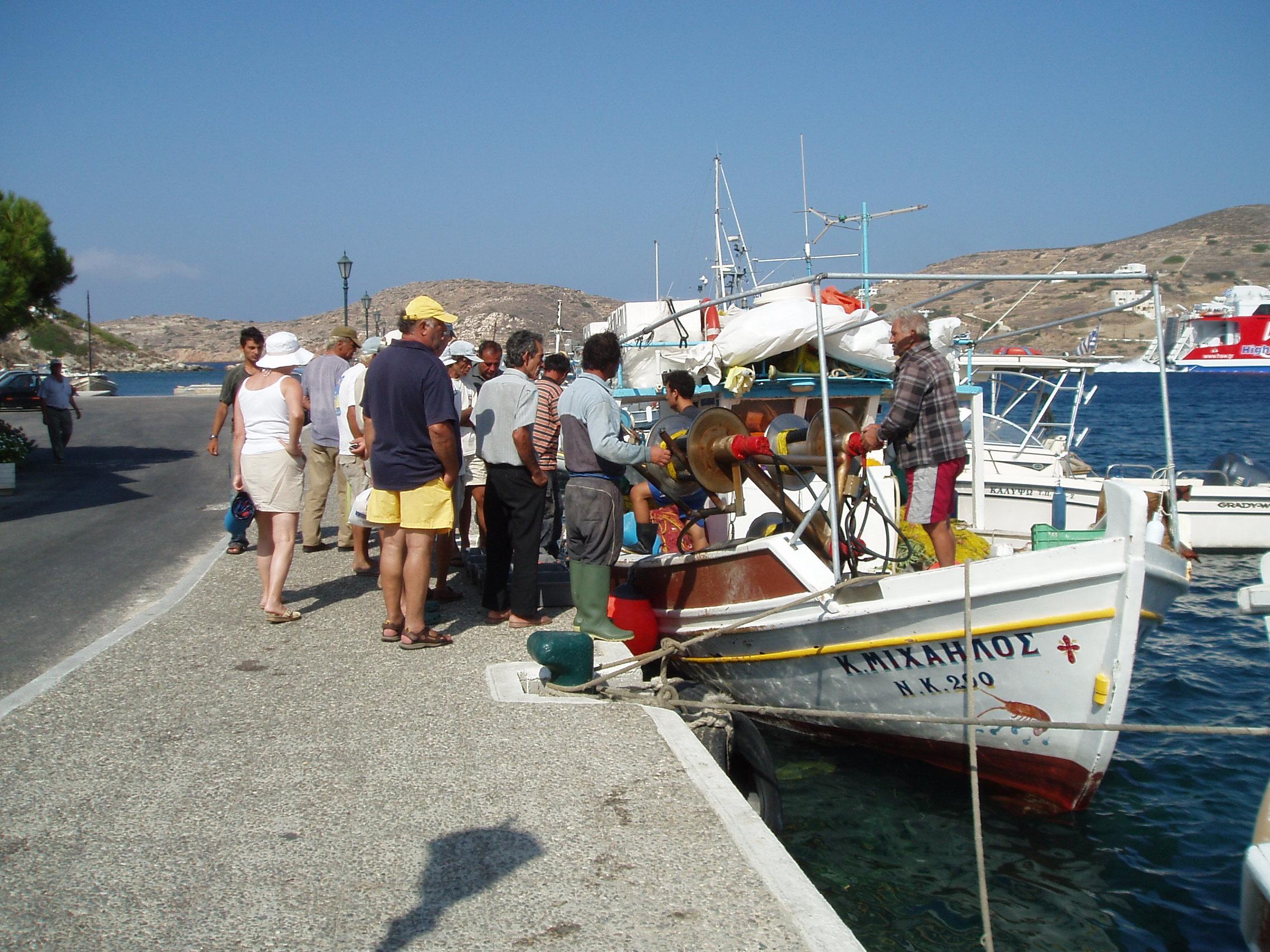 Ios Greece Last Night's Catch