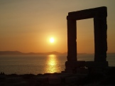 Greece Naxos Sunset