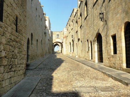 Rhodes - Street of the Knights