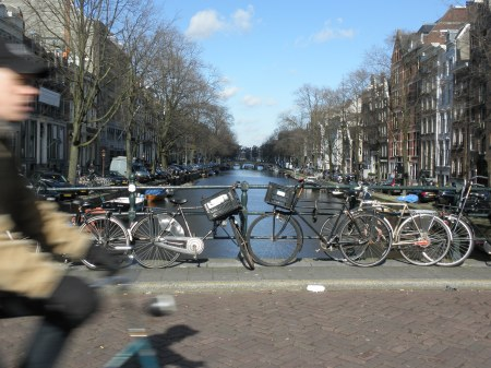Amsterdam Near Miss