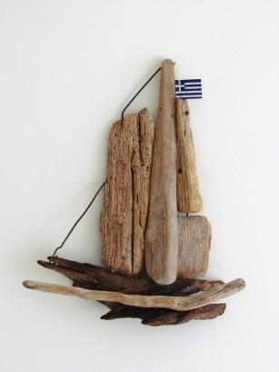 Corfu Boat Souvenir