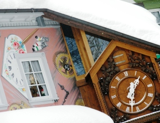 World's Biggest Cuckoo Clock Triberg Black Forest