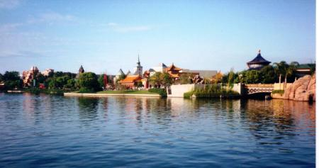 World Showcase Lake