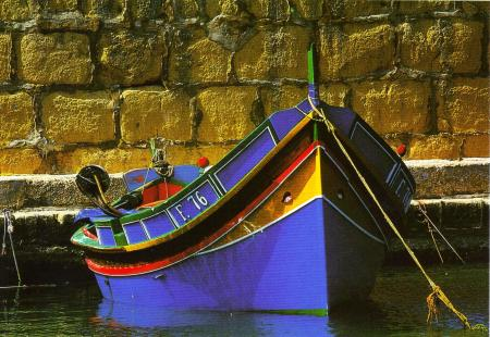 Luzzu Boat Malta