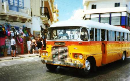 Malta Old pre privatisation Bus