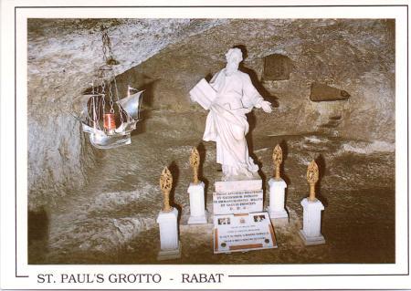 St Paul's Grotto Malta