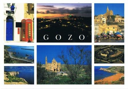 Gozo Postcard