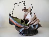Bristow Ceramics Malta Boat