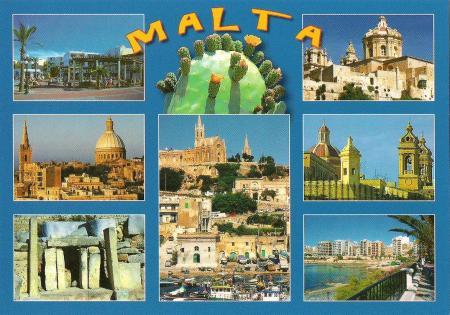 Valletta Postcard