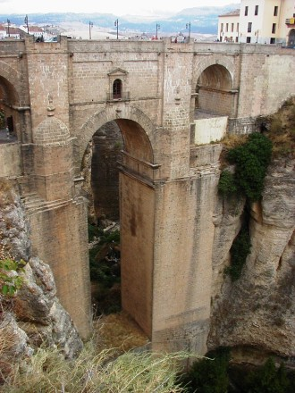Ronda Andalusia New Bridge