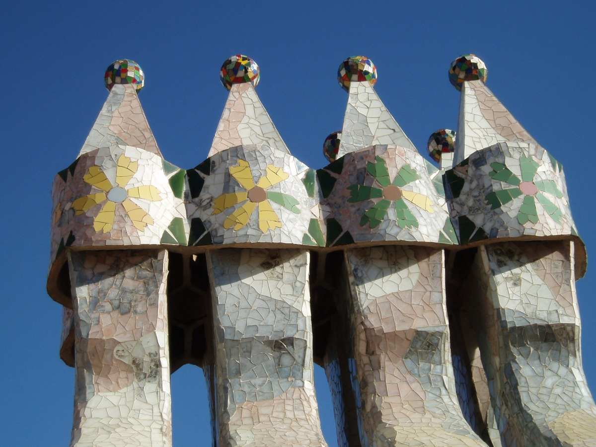 Alternative Twelve Treasures of Spain - Antoni Gaudi