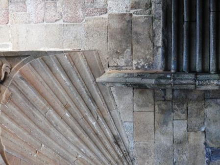 Scallop Shell Santiago de Compostela