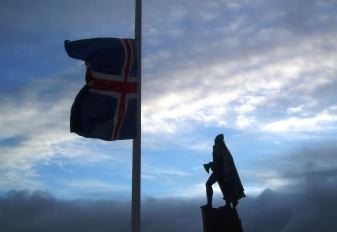 Leif Ericson Statue Reykjavik Iceland