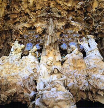 Sagrada Familia Barcelona Catalonia Spain