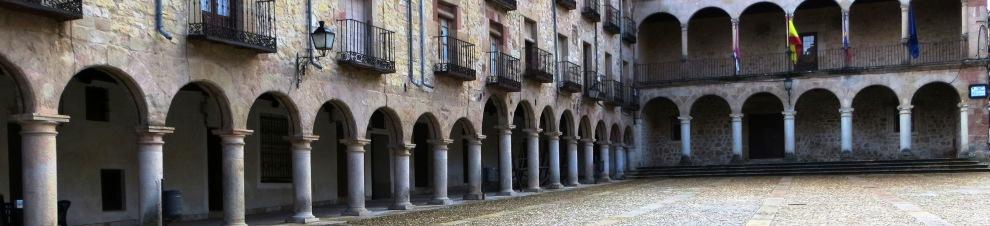 Siguenza Plaza Mayor Castile Spain