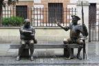 Don Quixote and Sancho PanzaAlcalá de Henares