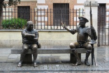 Don Quixote and Sancho PanzaAlcalá de Henares